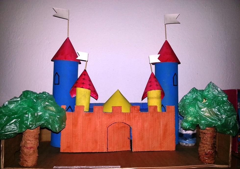 Замък на Християн Кунев (5 г.) и Михаил Кунев (5 г.), III група
